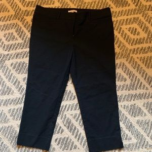 LOFT Cropped Marisa Fit Pants
